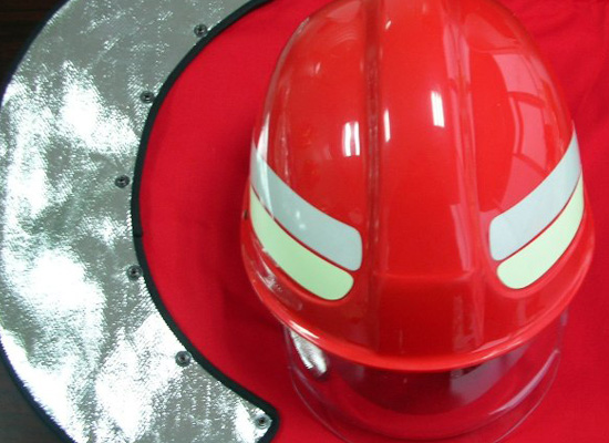 Fireman Helmet EC MED approved to EN443