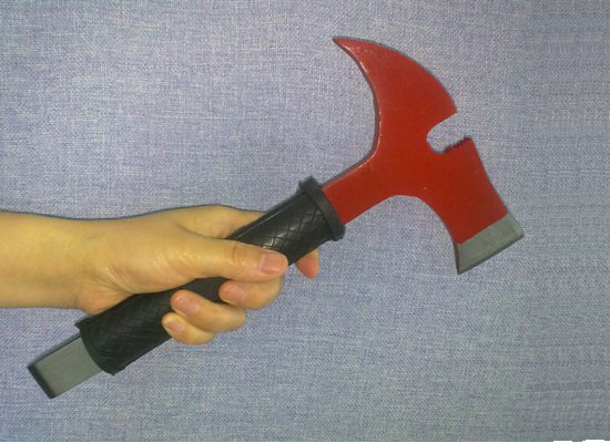 Fire Axe Pick Head Insulated Handle